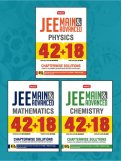 42 + 18 Years Chapterwise Sol. (Phy, Chem, Math) COMBO for JEE