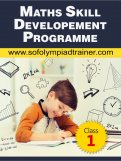 Class 1 : Maths Skill Development Summer Programme