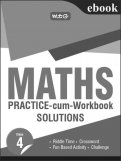 Maths Practice-cum-Workbook Solution-Class 4