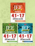 41 + 17 Years Chapterwise Sol. (Phy, Chem, Math) COMBO for JEE