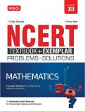 NCERT Textbook + Exemplar Problems Solutions Mathematics Class 12