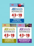 43 + 19 Years Chapterwise Sol. (Phy, Chem, Math) COMBO for JEE