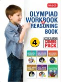 Class 4: Work Book and Reasoning Book Combo for NSO-IMO-IEO-NCO-IGKO