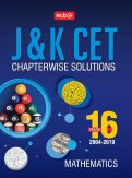 16 Years J&K CET Chapterwise Solutions - Mathematics