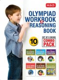 Class 10: Work Book and Reasoning Book Combo for NSO-IMO-IEO-NCO-IGKO