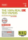 The 100 Percent Real Test Papers -NSO- Class 6