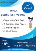 IMO Online Test Package Class 7