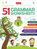 51 English Grammar Worksheets - Class 1 (Instant downloadable)