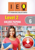Class 6 IEO 3 year (Instant download eBook) - Level 2
