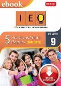 Class 9 IEO 5 years (Instant download eBook)