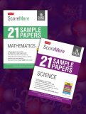 ScoreMore 21 Sample Papers CBSE Boards – Class 10 Science and Maths Combo