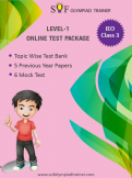 IEO Online Test Package Class 3