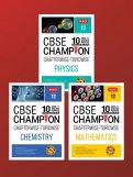 10 Years CBSE Champion Combo - Phy, Chem, Maths Class-12