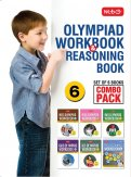 Class 6: Work Book and Reasoning Book Combo for NSO-IMO-IEO-NCO-IGKO