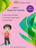 IEO Online Test Package Class 8