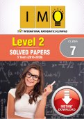 Class 7 IMO 5 years (Instant Download eBook) - Level 2