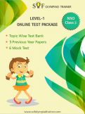 NSO Online Test Package Class 3