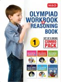 Class 1: Work Book and Reasoning Book Combo for NSO-IMO-IEO-IGKO