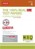 The 100 Percent Real Test Papers -NSO- Class 4