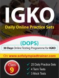IGKO Daily Online Practice Sets Class 9