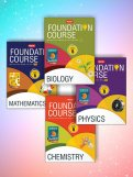 Foundation Course combo (Phy, Chem, Bio, Maths) Class 8