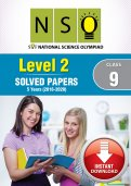 Class 9 NSO 5 years (Instant Download eBook) - Level 2