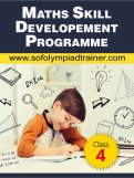 Class 4 : Maths Skill Development Summer Programme