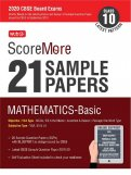 ScoreMore 21 Sample Papers CBSE Boards – Class 10 Mathematics Basic