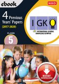 Class 5 IGKO 4 years (Instant download eBook)