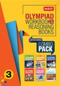 Class 3: Work Book and Reasoning Book Combo for NSO-IMO-IEO-NCO-IGKO