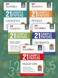 ScoreMore 21 Sample Papers CBSE Boards – Class 12 Bio, Chem, Phy, Maths, English Combo