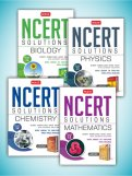 NCERT Solutions Combo (Phy, Chem, Maths, Bio) Class 12