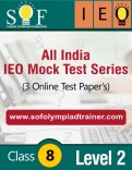 All India IEO Mock Test Series – Level 2 – Class 8