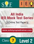 All India IEO Mock Test Series – Level 2 – Class 7