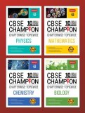 10 Years CBSE Champion Combo - Phy, Chem, Maths, Bio Class-12