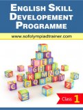Class 1 : English Skill Development Summer Programme