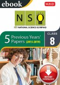 Class 8 NSO 5 years (Instant download eBook)
