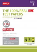 The 100 Percent Real Test Papers -NSO- Class 5