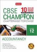 10 Years CBSE Champion Chapterwise-Topicwise- Accountancy - Class 12