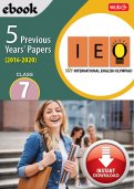 Class 7 IEO 5 years (Instant download eBook)