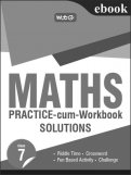 Maths Practice-cum-workbook Solution-Class 7