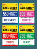 Score More Case Study Chapter wise Practice Questions Combo - Phy,Chem, Bio,Maths Class-12