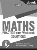 Maths Practice-cum-workbook Solution-Class 6