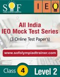 All India IEO Mock Test Series – Level 2 – Class 4