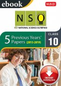 Class 10 NSO 5 years (Instant download eBook)