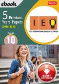 Class 10 IEO 5 years (Instant download eBook)