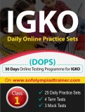 IGKO Daily Online Practice Sets Class 1
