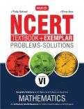 NCERT Textbook + Exemplar Problems Solutions Mathematics - Class 6