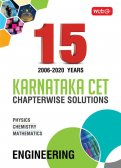 15 years Karnataka CET Chapterwise Solutions PCM