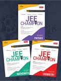 JEE Champion Combo-Phy, Chem & Maths